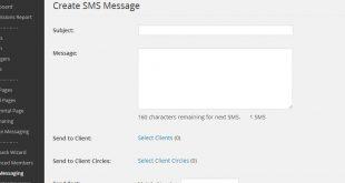 افزونه ارسال پیامک برای وردپرس
